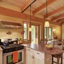River Road House, a beautiful and sustainable timber frame home with two bedrooms in 800 sq ft. | www.facebook.com/SmallHouseBliss