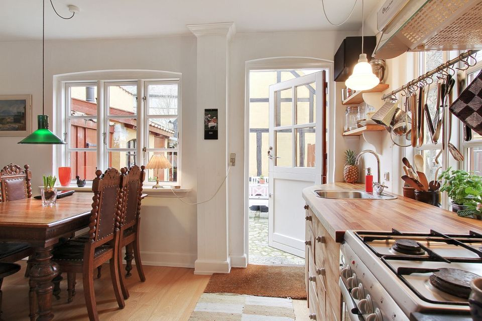 Gallery Cozy 1894 Townhouse In Denmark Small House Bliss