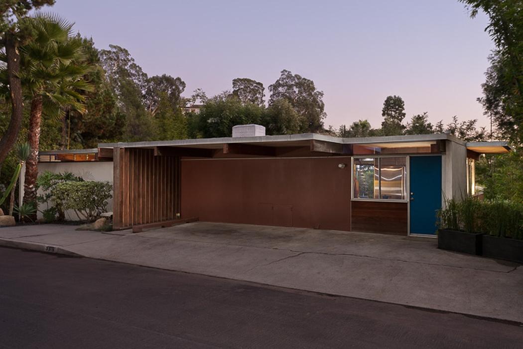 attached flat roof carport plans