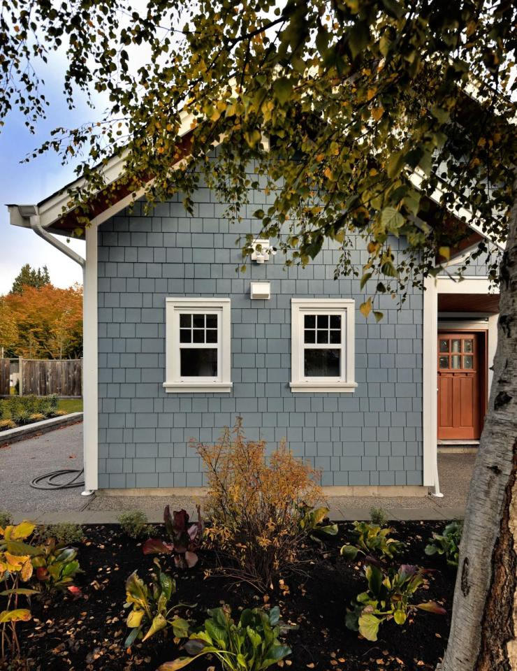 The Arbutus, a laneway house with two bedrooms and two full baths in just 750 sq ft.   www.facebook.com/SmallHouseBliss