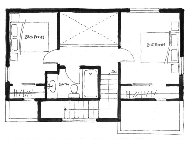 Gallery the arbutus laneway house smallworks small for 750 sq ft floor plan