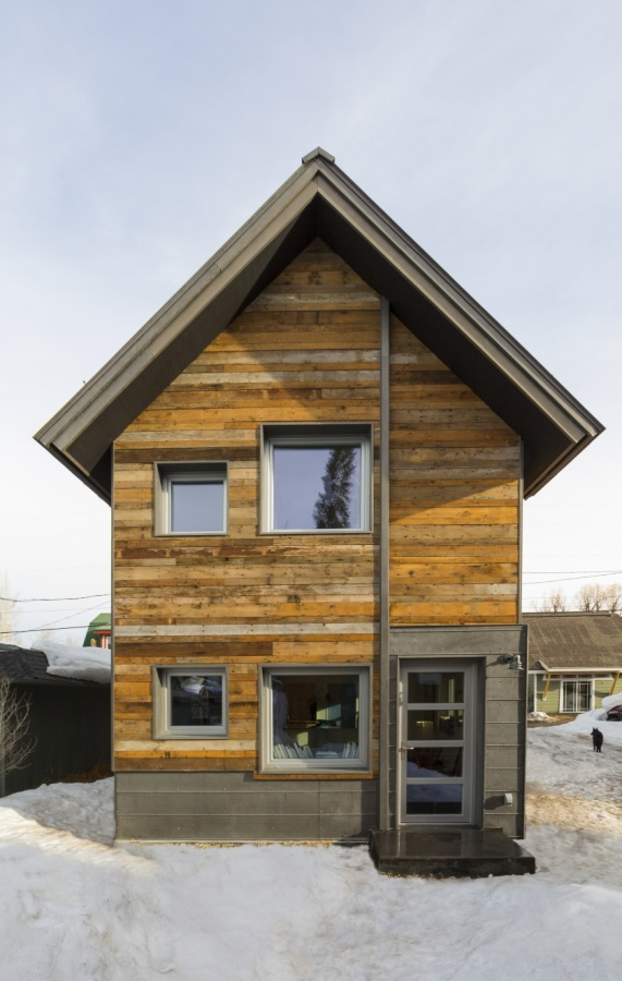 The Diagon Alley passive house in Colorado WorkshopL