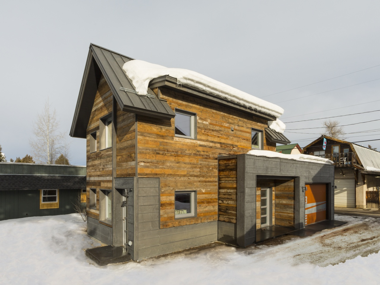 Gallery The Diagon Alley Passive House In Colorado