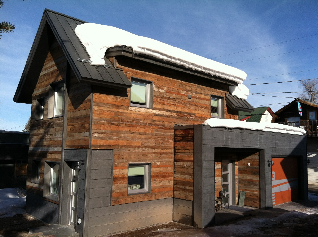 Gallery: The Diagon Alley passive house in Colorado | WorkshopL ...