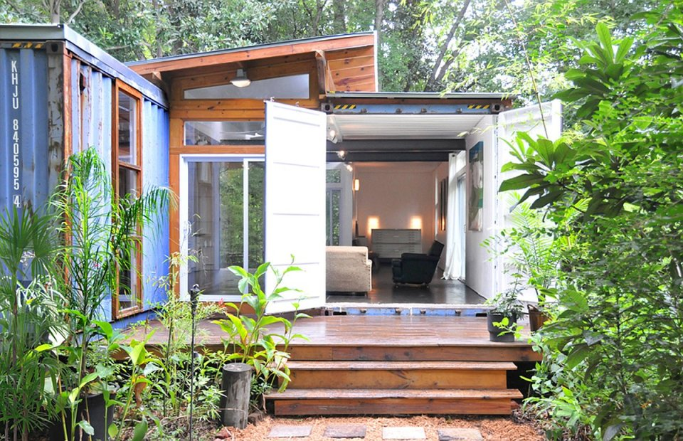 Container Home And Studio | 17 Cool Container Homes To Inspire Your Own