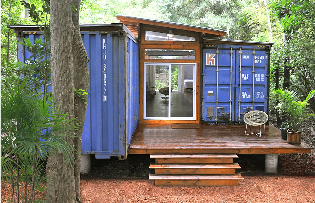 Gallery The Savannah Project An Artist S Container Home