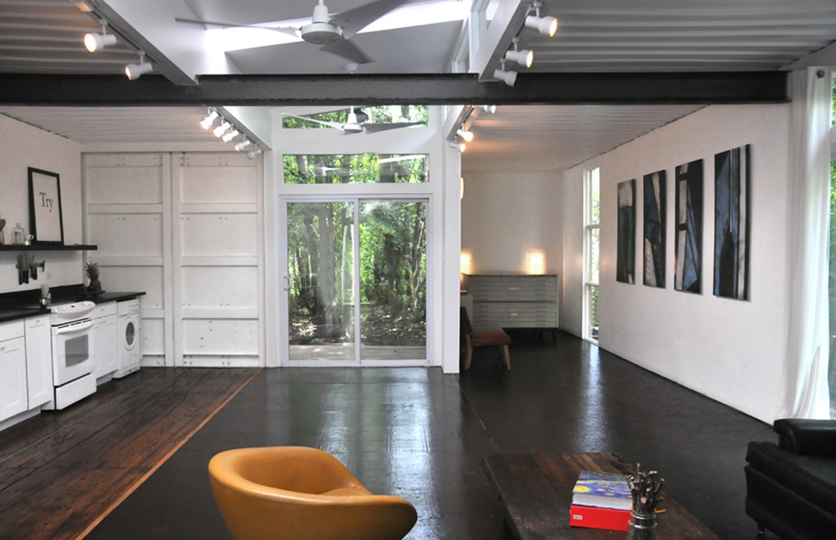 Gallery The Savannah Project An Artist S Container Home And Studio