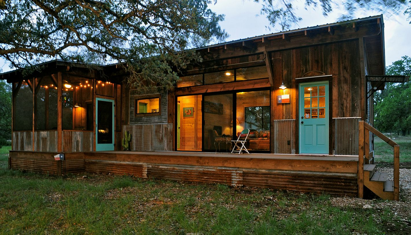Gallery la arboleda retreat cabin reclaimed space for Small house bliss