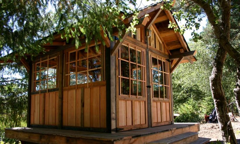 House Cabin In The Woods By Molecule Tiny Homes Small House Bliss