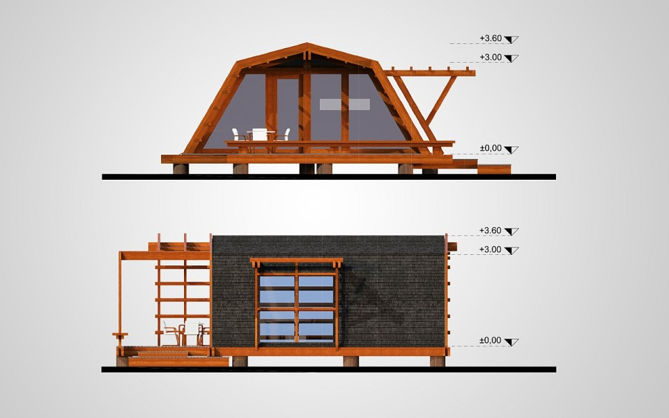 Gallery the soleta zeroenergy one small house bliss for Small sustainable homes