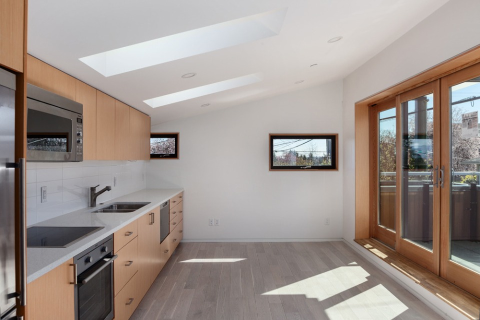 A laneway house with sustainable design by Lanefab Design/Build   www.facebook.com/SmallHouseBliss