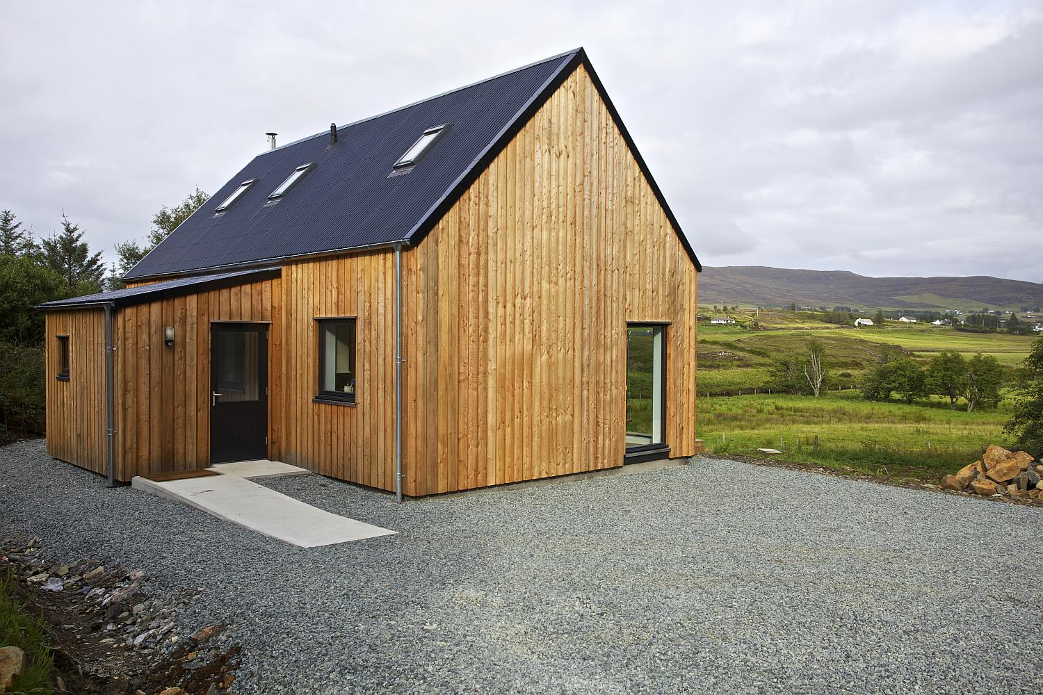 Gallery the r house by rural design architects small for Rural design homes