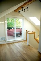 Scott and Tania's 485 sq ft laneway house by Architrix Design Studio   www.facebook.com/SmallHouseBliss