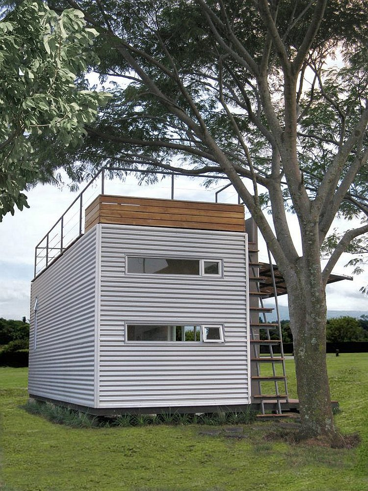Gallery casa c bica a tiny container home small house for Small house bliss
