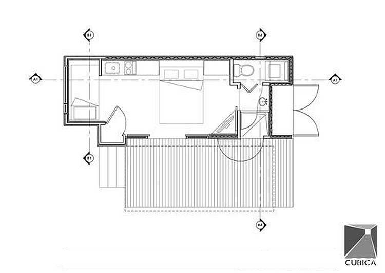 Shipping container house floor plans joy studio design for 12 container house floor plan