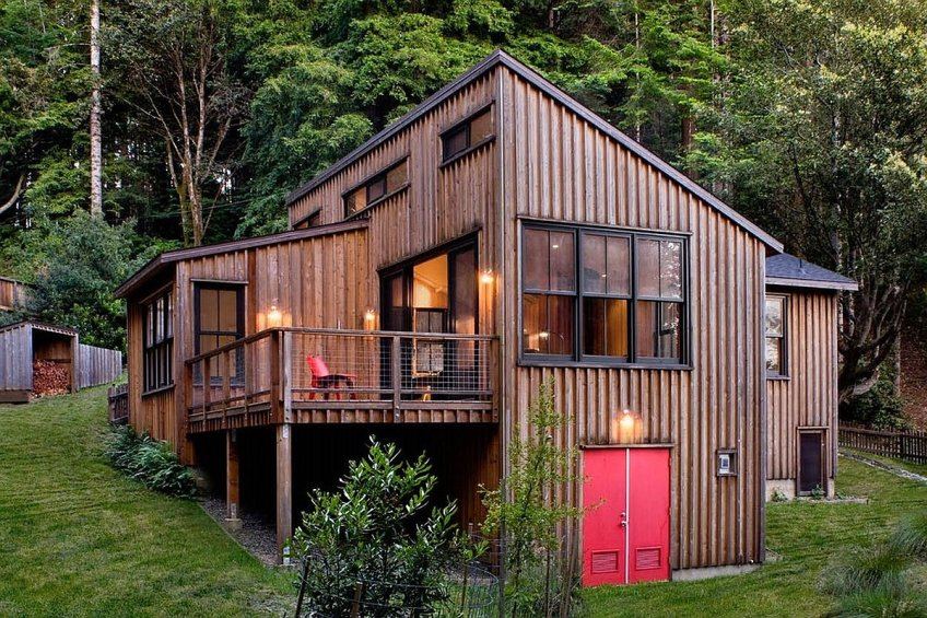 Gallery A Cottage In The Redwoods By Cathy Schwabe Small House