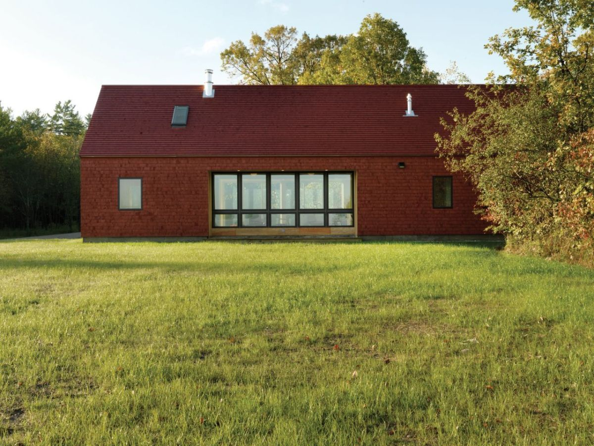 The foote farm house mcleod kredell architects small for Small modern farmhouse
