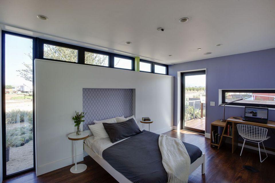 Harvest House, a 760 sq ft 1 bedroom wheelchair friendly house entered in Solar Decathlon 2013   www.facebook.com/SmallHouseBliss