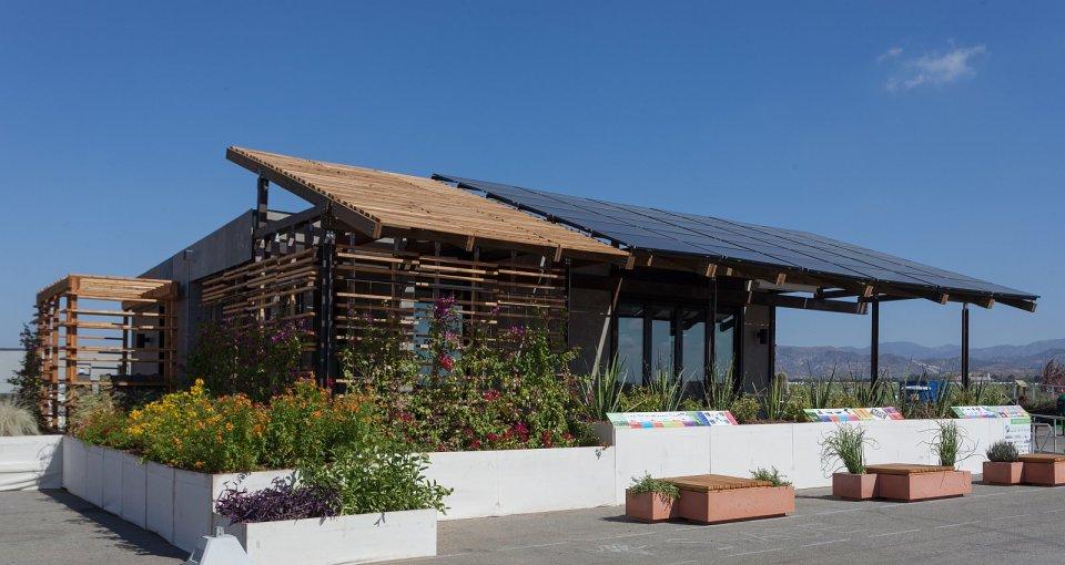 SHADE, an 851 sq ft 1 bedroom entry at Solar Decathlon 2013 | www.facebook.com/SmallHouseBliss
