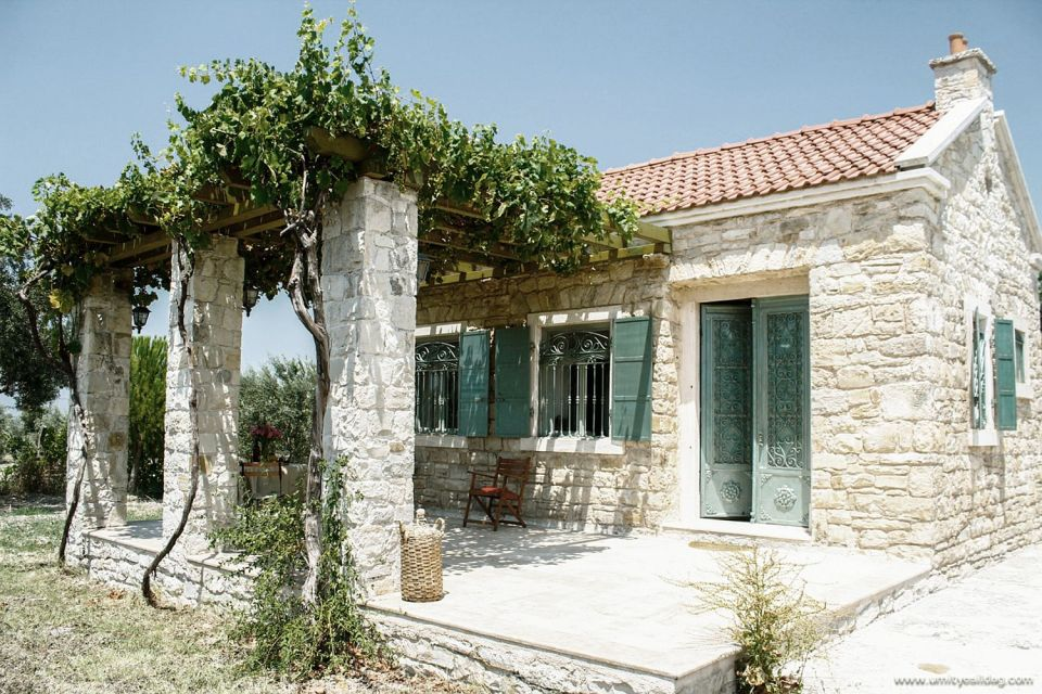 This cozy stone cottage in the Turkish countryside has one bedroom in roughly 650 sq ft. | www.facebook.com/SmallHouseBliss