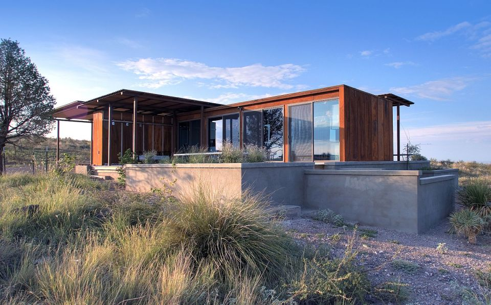 the marfa weehouse a compact but luxurious desert retreat the modern prefab has a