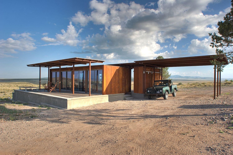 Desert Home Plans | Gallery The Marfa Weehouse A Compact Desert Retreat Alchemy