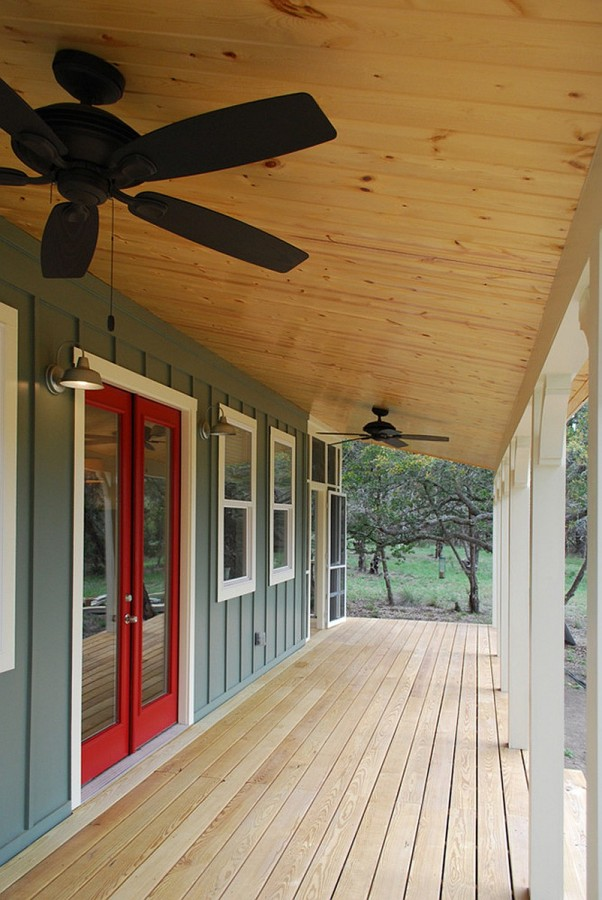 Texas hill country cottage by kanga room systems small for Prefab screened porches