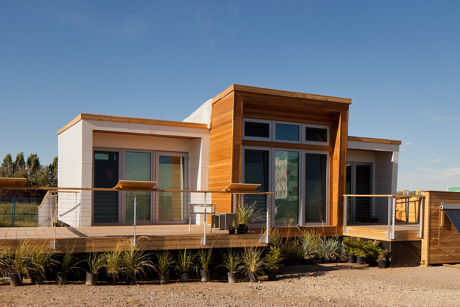 Gallery Solar Decathlon 2013 Borealis A Small House For