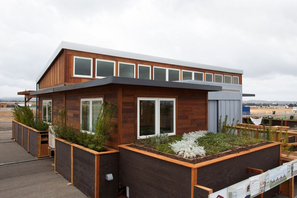 Start.Home, a 988 sq ft 2 bedroom entry at Solar Decathlon 2013 | www.facebook.com/SmallHouseBliss