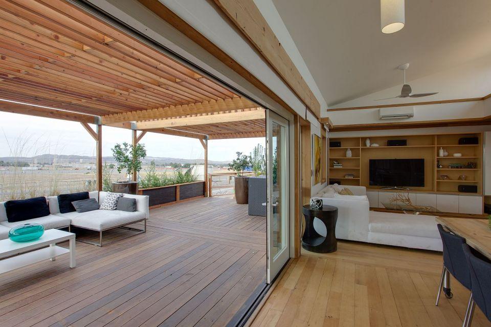 Start.Home, a 988 sq ft 2 bedroom entry at Solar Decathlon 2013 | www.facebook.com/SmallHouseBliss