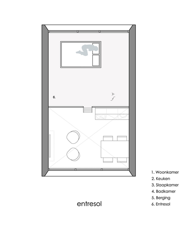 The Nabucco, a prefab vacation home with 516 sq ft of floor space. | www.facebook.com/SmallHouseBliss