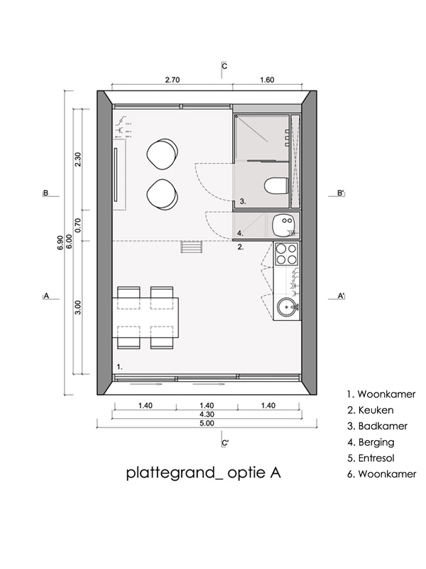The Tosca, a prefab vacation home with 419 sq ft of floor space.   www.facebook.com/SmallHouseBliss