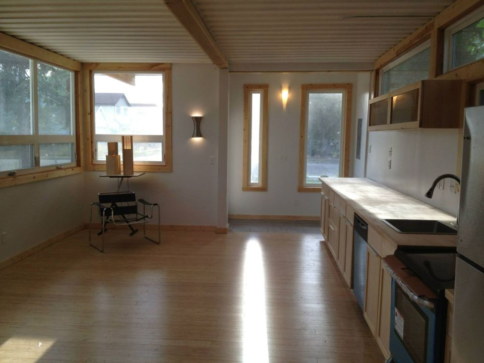 gallery sarah house an affordable green container home