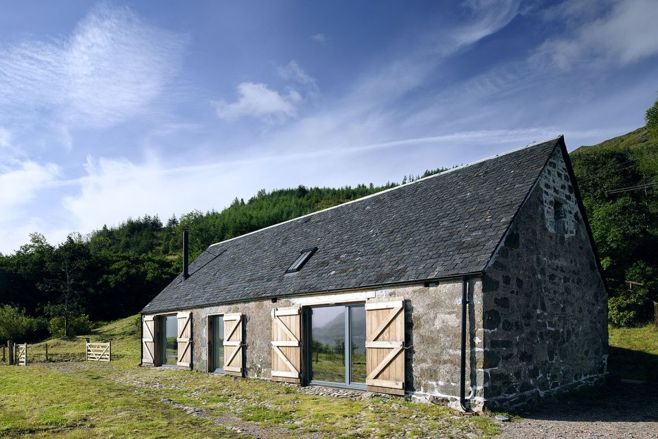 Gallery Leachachan Barn Rural Design Small House Bliss
