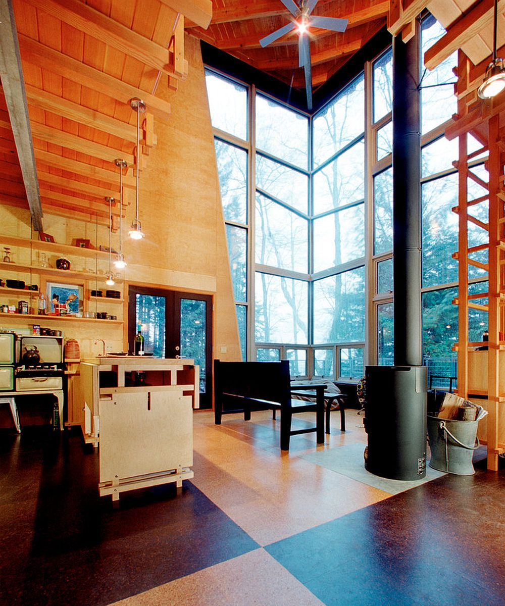 Gallery hood canal cabin castanes architects ps and ray for Hood canal cabin for sale