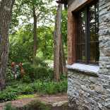 Fox Hollow, a new cottage built from antique materials. Designed by Murphy & Co. Design, it has 1 bedroom in 860 sq ft. | www.facebook.com/SmallHouseBliss