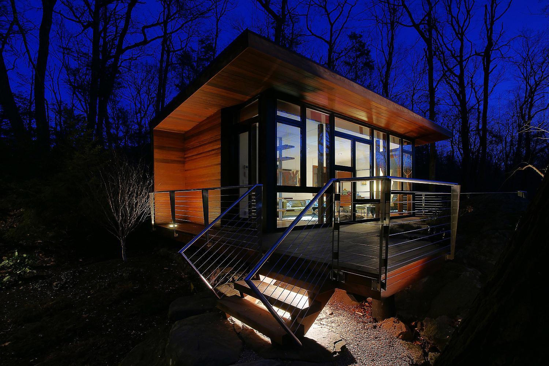 A Modern Studio Retreat In The Woods Workshop Apd
