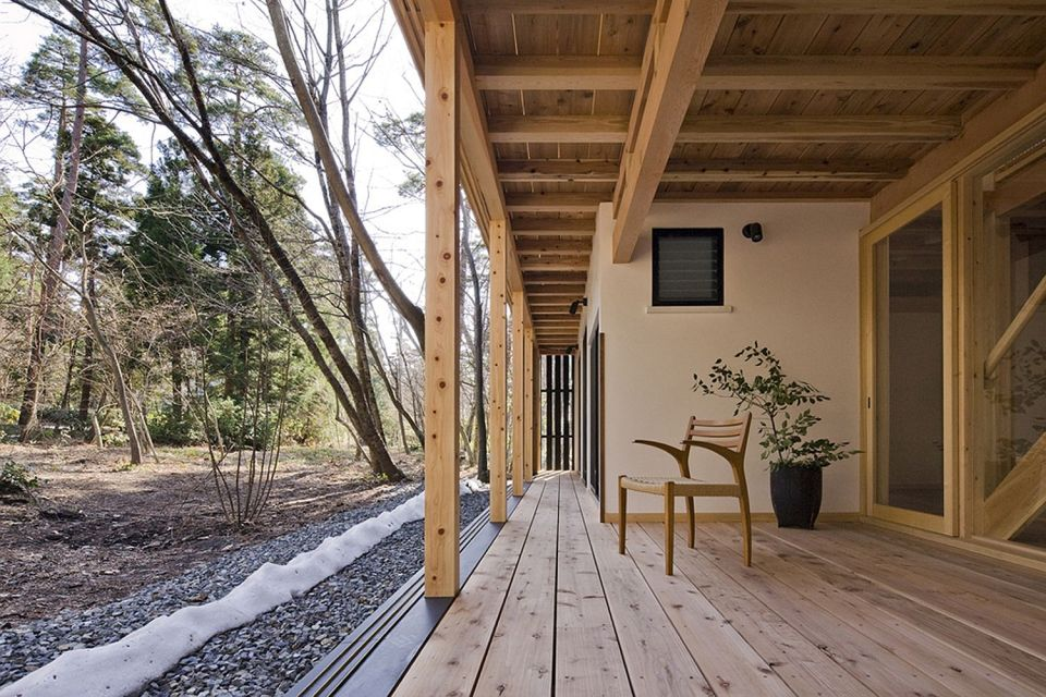 a new small house built in traditional japanese style it has 2 bedrooms in 804 - Japanese Architecture Small Houses