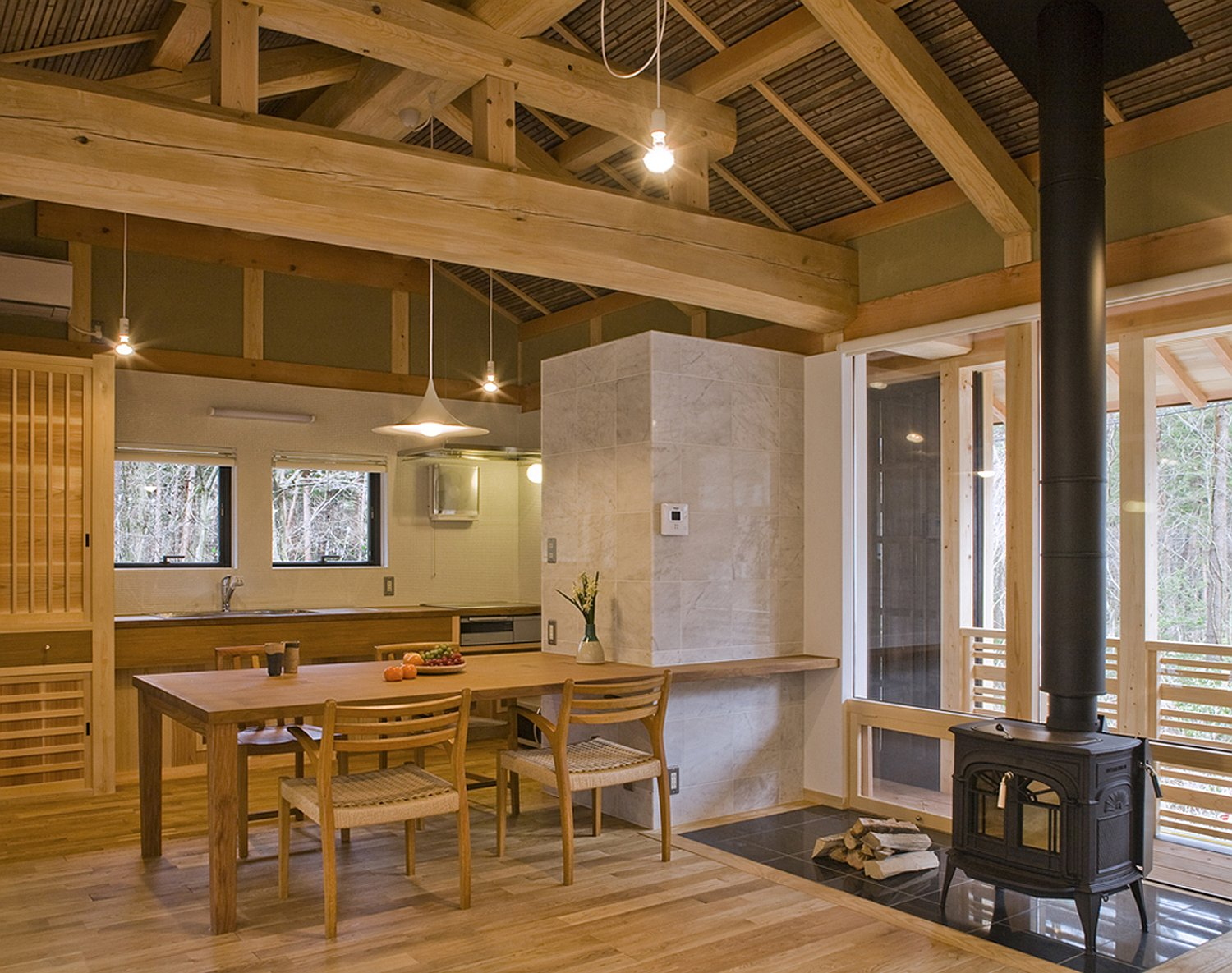A New Small House Built In Traditional Japanese Style. It Has 2 Bedrooms In  804