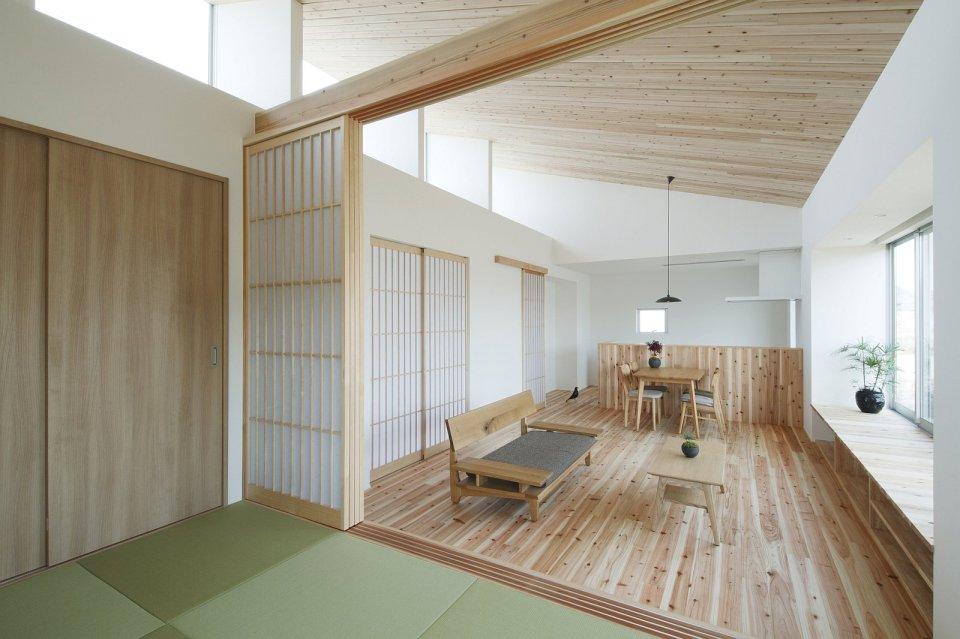 A modest light filled home in rural Japan ALTS Design Office
