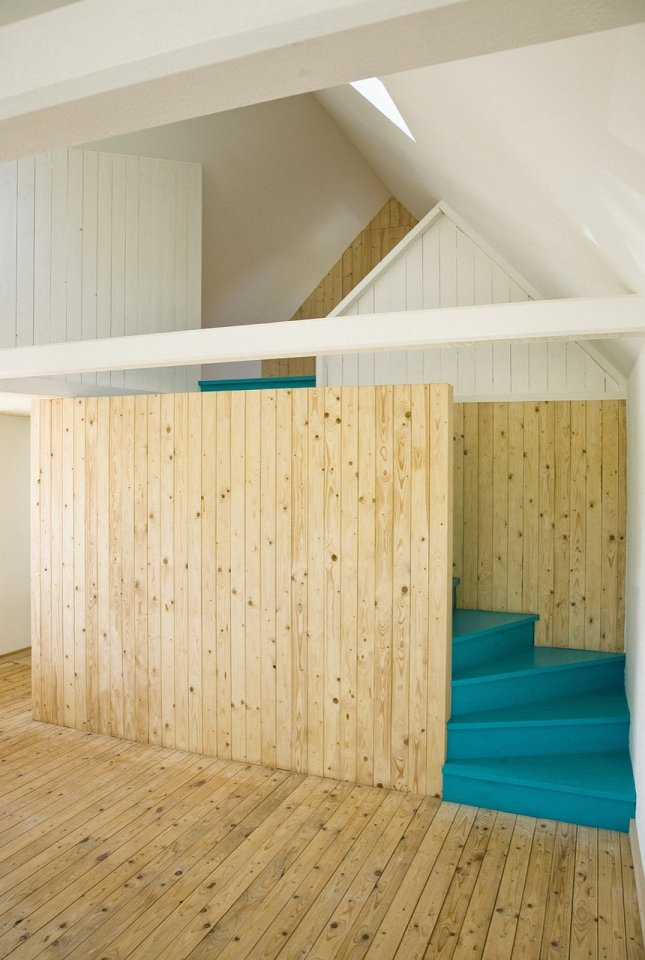 An abandoned farmhouse in Sweden became a family's summerhouse with 3 bedrooms plus a loft in 1,130 sq ft. | www.facebook.com/SmallHouseBliss