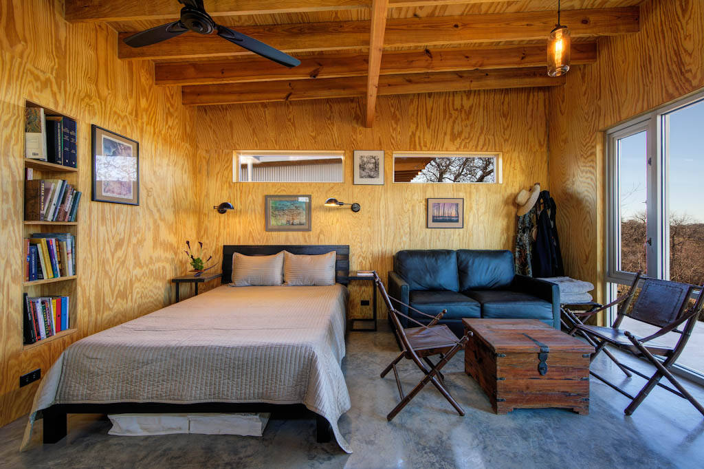 Llano exit strategy a shared cabin compound matt garcia for One bedroom cabins to build