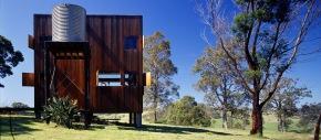 The Box House, a basic off-grid cabin in the Australian bush. | www.facebook.com/SmallHouseBliss