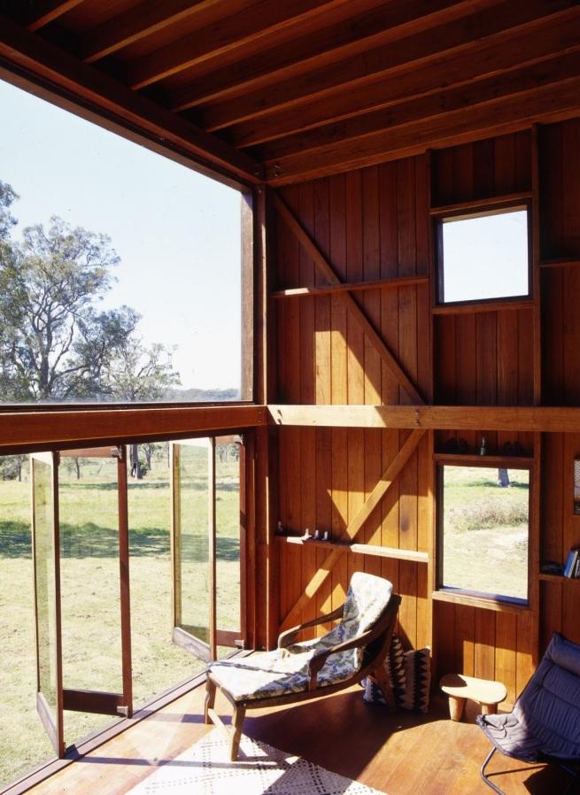 The Box House, a basic off-grid cabin in the Australian bush.   www.facebook.com/SmallHouseBliss