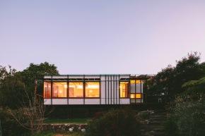 """The Pod"", a modern 1 bedroom backyard cottage in Australia.   www.facebook.com/SmallHouseBliss"