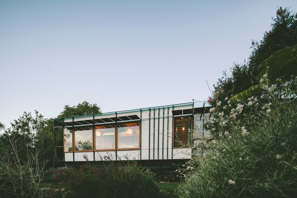 """The Pod"", a modern 1 bedroom backyard cottage in Australia. | www.facebook.com/SmallHouseBliss"