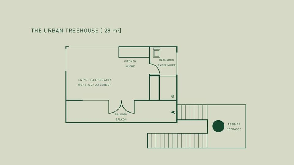 Gallery urban treehouse baumraum small house bliss for Small urban house plans