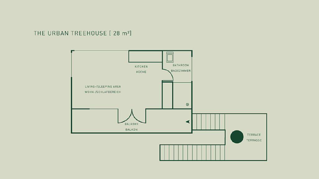 Modern Tree House Floor Plans Part - 20: Gallery: Urban Treehouse | Baumraum