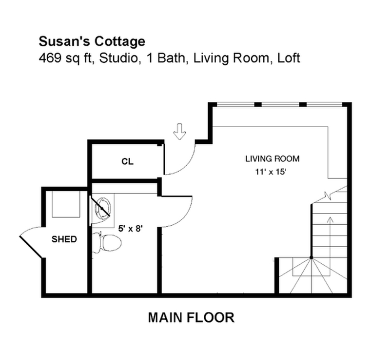 Gallery Susan S Tiny Backyard Cottage With A Loft And Stairs New Avenue Homes Small House Bliss