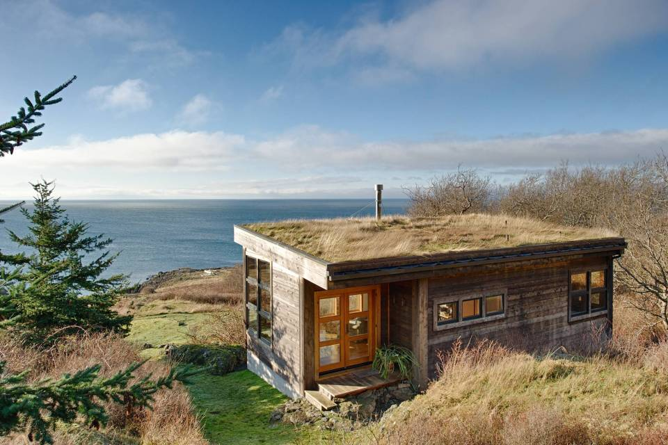 Eagle Point Cabin Prentiss Architects Small House Bliss